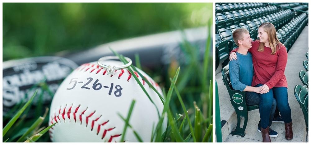 baseball stadium engagement session_0174