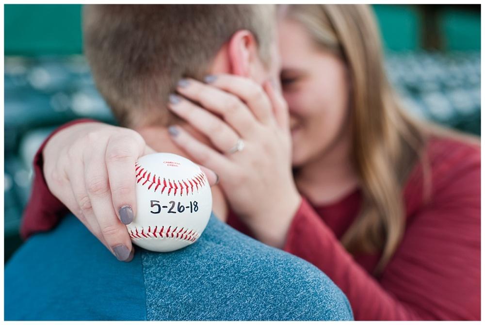 baseball stadium engagement session_0178