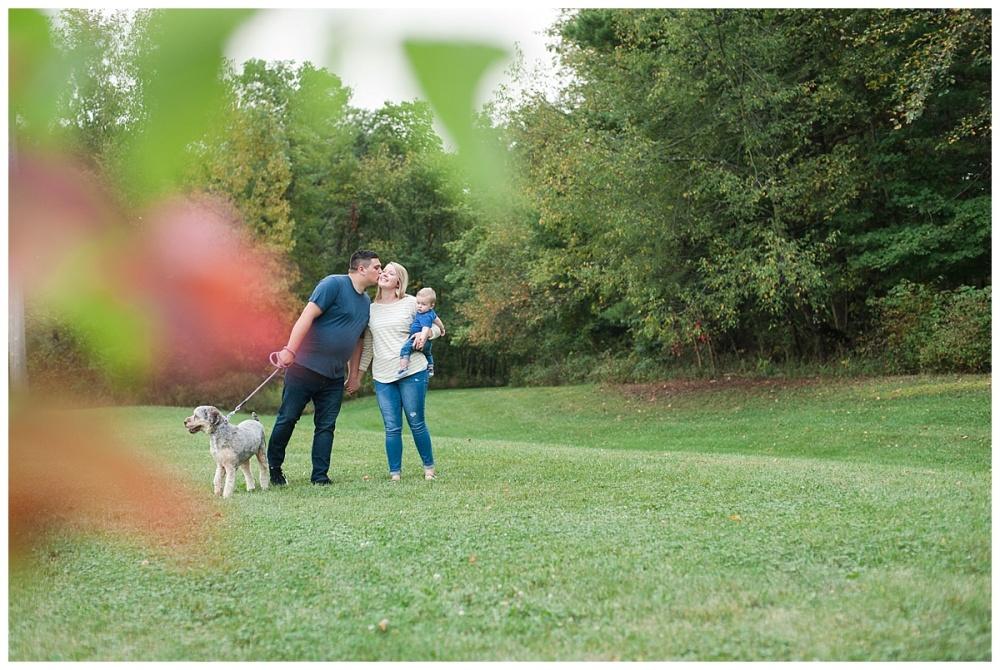 Fall family portraits baby dog_0123