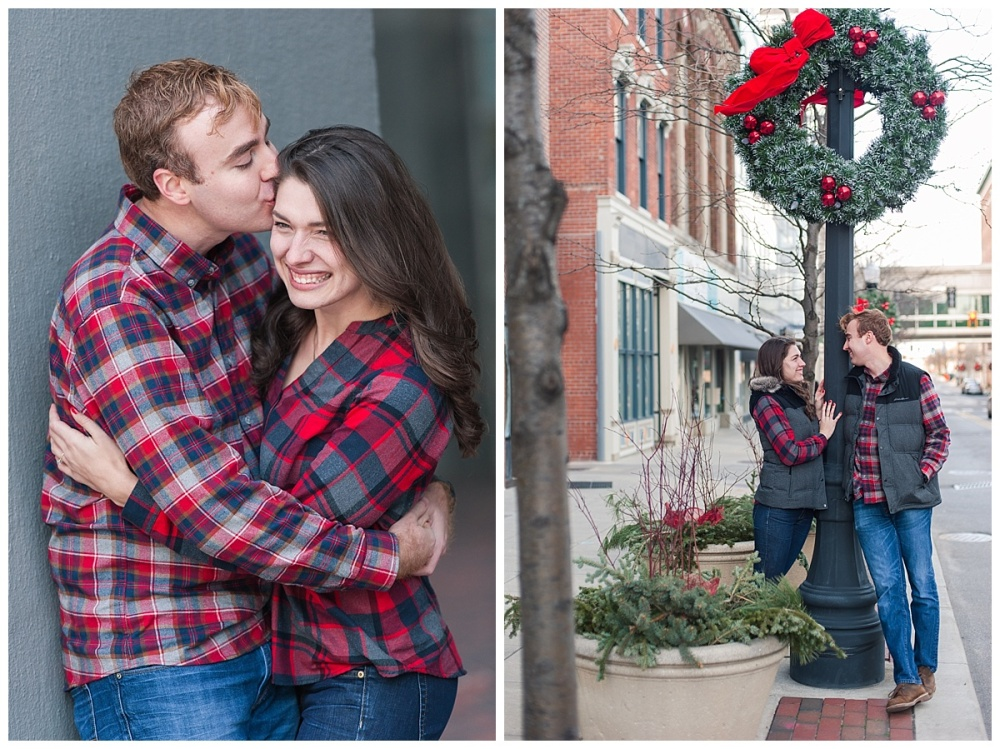 downtown fort wayne christmas engagement_0100