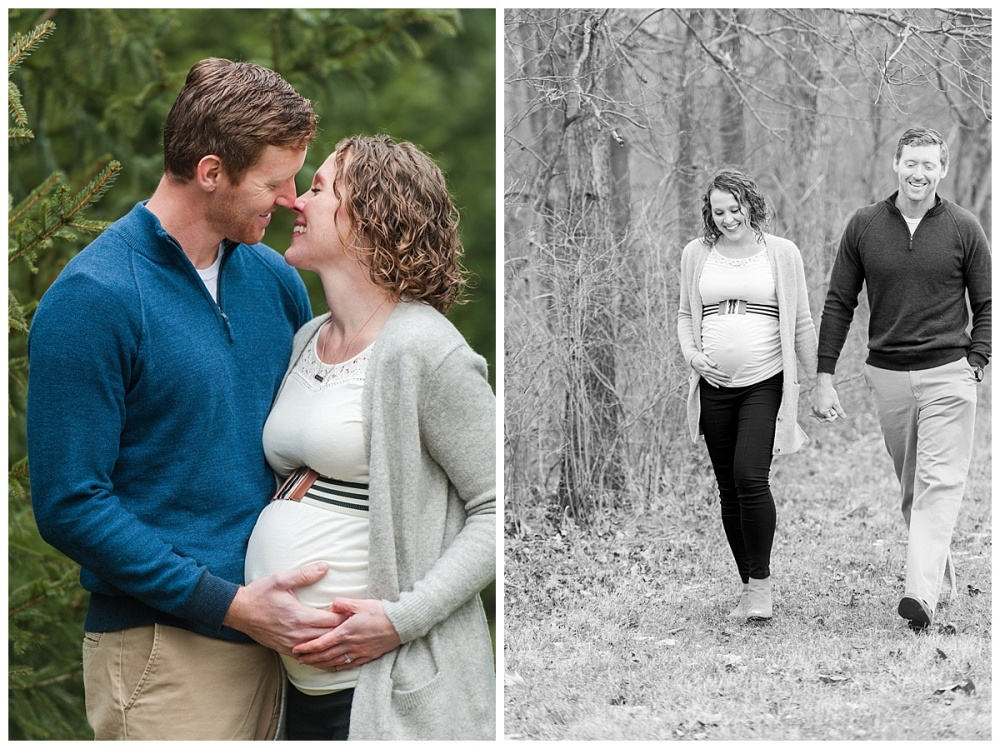 evergreen Christmas maternity photography_0175