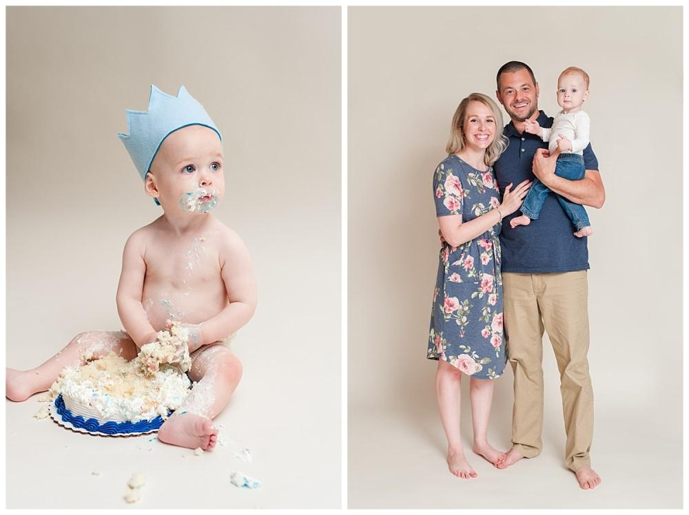 fort wayne family photographer one year cake smash_0391