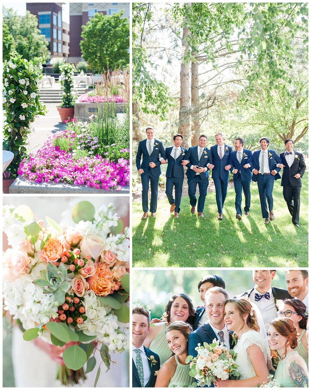 Fort Wayne wedding photographer Botanical Gardens Conservatory_0126