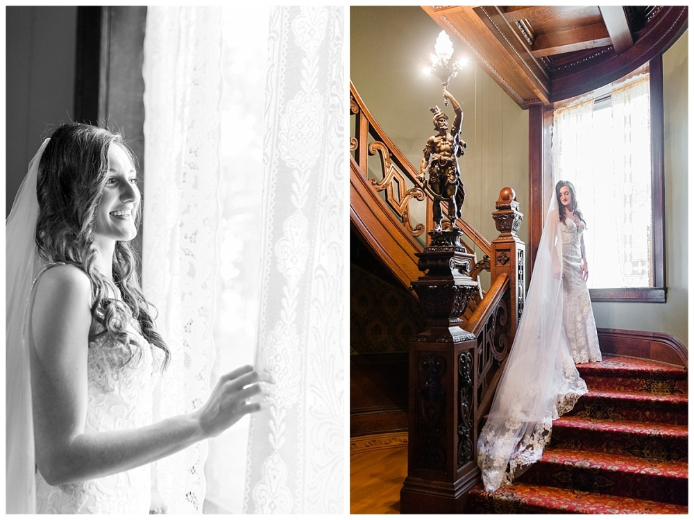 Fort Wayne wedding photographer st. Francis University Brookside Bass Mansion_0207