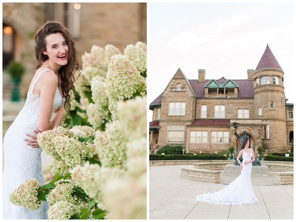 Fort Wayne wedding photographer st. Francis University Brookside Bass Mansion_0216