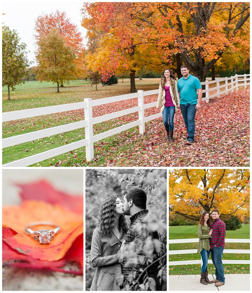 fort wayne engagement photographer fall Foster park_0100