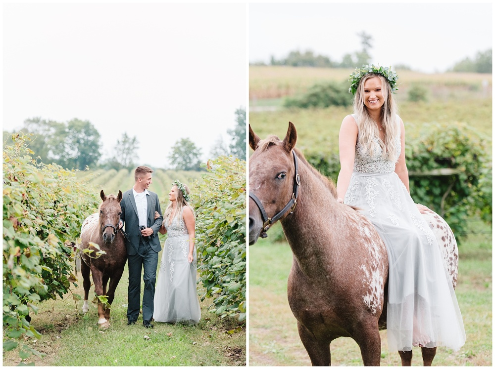 fort wayne indiana engagement photographer vineyard horse champagne_0177